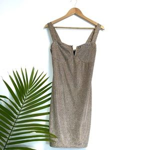 NWT CHARLOTTE RUSSE Sparkly Bodycon Dress